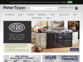 Peter Tyson Appliances Promo Codes
